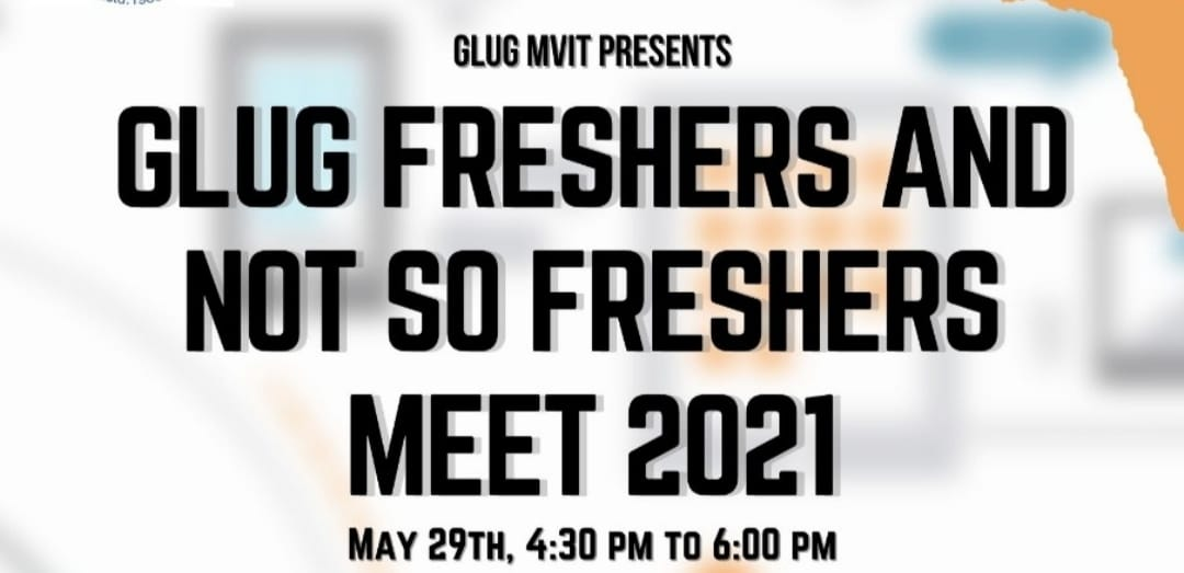Welcome Freshers and not so Freshers'21